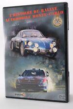 DVD  L'histoire du Rallye auto Monte carlo