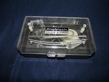 Knobloch Shooting Glasses with plastic Case Karlsruhe W Germany