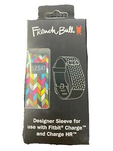 FRENCH BULL DESIGNER SLEEVE FOR USE WITH FITBIT CHARGE & CHARGE HR