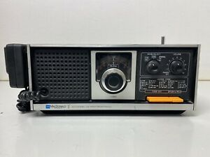 VINTAGE MacDonald Instruments Battery Powered Scanner Radio, No Power Cord