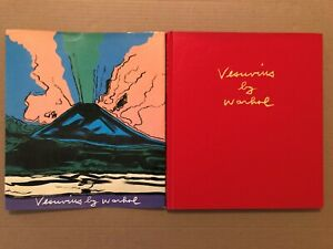 VESUVIUS BY WARHOL ELECTA NAPOLI ITALY 1985 FIRST EDITION HARD COVER DUST JACKET