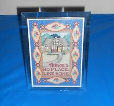 "Mary Engelbreit ""There's No Place Like Home"" Plastic Musical Picture Frame Rare"