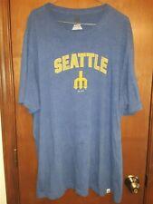 Cooperstown MLB Seattle Mariners Men's Majestic Blue Baseball T-Shirt XXL