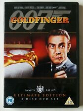 GOLDFINGER / JAMES BOND / SEAN CONNERY / THE ULTIMATE EDITION / 2 DISC SET / R2
