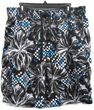 Men's Arizona Black Swim Trunks Swimsuit Size XL Regular Lined