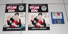 Pc DYLAN DOG Storia di nessuno Simulmondo L'indagatore interattivo 3 Amiga