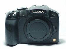 Panasonic LUMIX DMC-G6 16.0 MP Digital SLR Camera -Black  BODY + BATTERY CHARGER