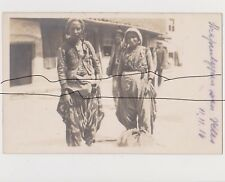 Old Photo Original WWI Gypsy Women. Balkan States