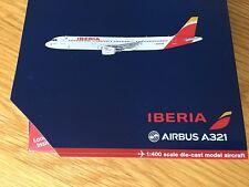 IBERIA Airlines Airbus A321 Model Gemini 1:400 Diecast EC-ILO 1/400 GJIBE1494