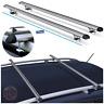 Lightweight Aluminium Roof Rack Rails Cross Bars to fit VW Touran (All Years)