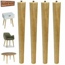 16 inch Table Legs Wood Legs for DIY Nesting Coffee Table Midcentury Pack of 4