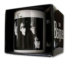 BEATLES WITH THE BEATLES WHITE CERAMIC COFFEE MUG W/ OPEN FACE BOX NEW OFFICIAL