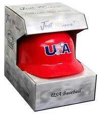 USA Baseball Red Mini-Helmet from Just Minors