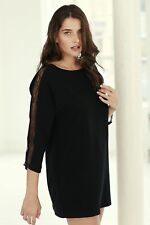 Plus Size Boat Neck Casual Dresses without Pattern for Women