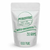 Purisure Myo-Inositol Powder Enhance Memory and Concentration Mood Support 250g