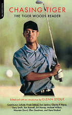 NEW GOLF BOOK Chasing Tiger: The Tiger Woods Reader