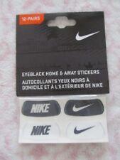 Nike Swoosh Eyeblack Home & Away Stickers Black/White 12 Pairs