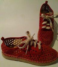 Catherine Malandrino sneaker women's casual espadrille  shoes US Sz 7M new