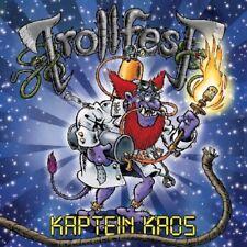 TROLLFEST - KAPTEIN KAOS (LIMITED EDITION + BONUS DVD)  CD + DVD NEW+