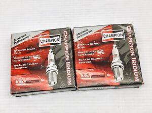 LOT OF 8 CHAMPION SPARK PLUGS 9408 IRIDIUM SPARK PLUG