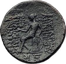 DEMETRIOS II Nikator -RARE R1 R2 SELEUKID Zeus Apollo Ancient Greek Coin i60661