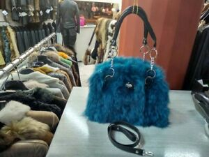 REAL- FUR FOX EXCELLENT QUALITY  REAL LEATHER HANDMADE FAST SHIPPING : 5-10 DAYS