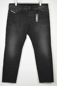 RRP €160 DIESEL BUSTER R9F66 Men W40/L32 Faded Slim Tapered Stretch Jeans 14957