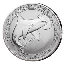2015 1/2 oz Australian Silver Hammerhead Shark Coin (BU)