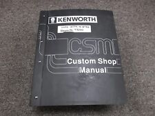 kenworth w900 t800 service manual open source user manual u2022 rh dramatic varieties com 1994 T800 Wiring Schematic for A Kenworth T800 Truck Electrical Wiring