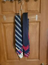 9 Free Ties w/the purchase of a Tie & Belt Rack Hanger/Organizer