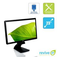 "HP E231 23"" Widescreen 1920x1080 LED LCD Monitor DP VGA DVI USB Grade B"