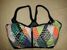 KNOCKOUT By Victoria's Secret Vic Sport Double Secure Lined Sports Bra Sz 32DDD