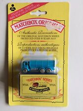 Matchbox Originals #11A Tanker Mint on Card