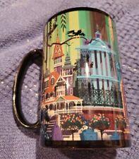Disney Coffee Mug Haunted Mansion Souvenir Disneyland Theme Park Display Cm