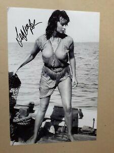 "SOPHIA LOREN signed 12""x8"" PHOTO with UACC RD C.O.A certified genuine"
