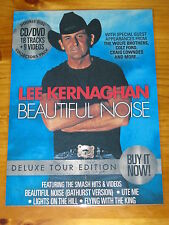 LEE KERNAGHAN - BEAUTIFUL NOISE - Laminated Promotional Poster