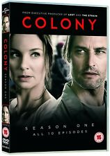 COLONY 1 (2016) Sci-Fi Alien Invasion Los Angeles TV Season Series R2 DVD not US
