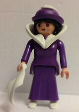 Playmobil Victorian Lady in purple dress  - NEW