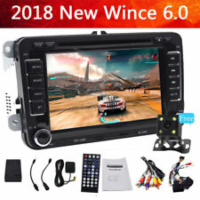 "7"" Navigatore Autoradio 2DIN Stereo DVD Player Car Per Vw Golf Mk5 Passat Seat"
