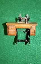 DOLLHOUSE FURNITURE - TREDLE SEWING MACHINE - NEW