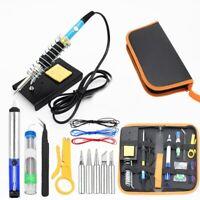 Electric Soldering Iron Kit 15 In 1 Adjustable Temperature Welding Tool 60W Twee