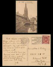 Mayfairstamps Belgium 1933 Brussels Werghem Grandes Cour. Slogan to Us Bridge Po