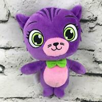 Nickelodeon Little Charmers Seven Plush Purple Cat Stuffed Animal Soft Toy