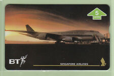 UK - BT General - 1996 5u Singapore Airlines II  - BTG661 - Mint - #140002