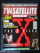 TV & SATELLITE WEEK - CLINT EASTWOOD IN THE LINE OF FIRE - 18 FEB 1995