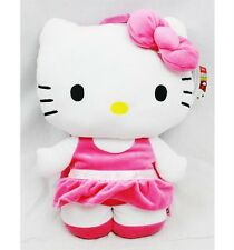 """NWT Sanrio Hello Kitty Plush Doll Backpack 15"""" Newest Style with Ballerina Tutu"""