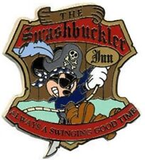 PIRATE MICKEY MOUSE PIN Swashbuckler Inn Caribbean 2006 GWP DLR Disney NEW