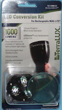 TERRALUX MAG LITE MAG CHARGER RECHARGEABLE FLASHLIGHT LED UPGRADE TLE310MREX