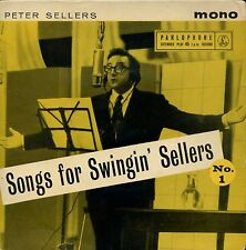 7inch PETER SELLERS songs for swingin sellers UK +PS MONO EP EX