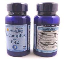 2X Vitamin B-Complex  B-12 180 Tablets Health Energy Skin Hair Anxiety Stress